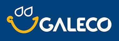 GALECO cserpeslemez, tarpézlemez logó
